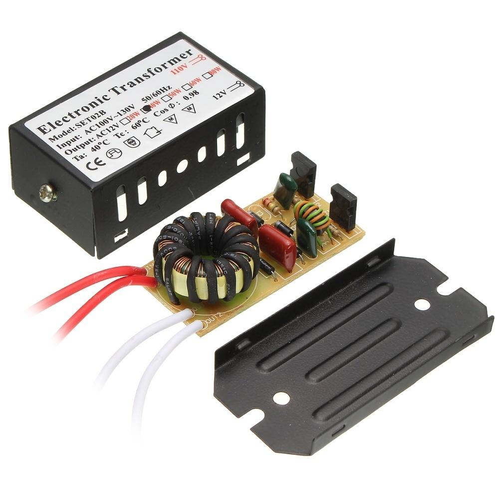 Generic AC 110V To 12V 20~160W LED Transformer Driver