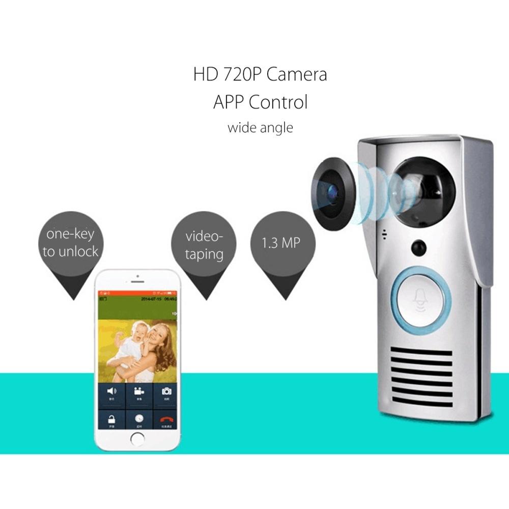 Generic Smart WIFI Wireless Doorbell Camera Phone Intercom