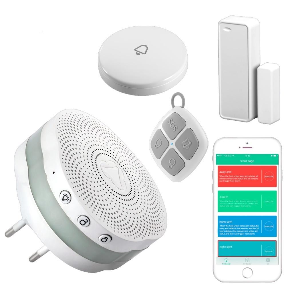Generic Golden Security APP Control Bluetooth Alarm System Wireless
