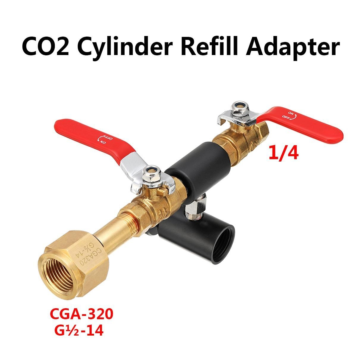 Generic CO2 Cylinder Refill Adapter for SodaStream bottle