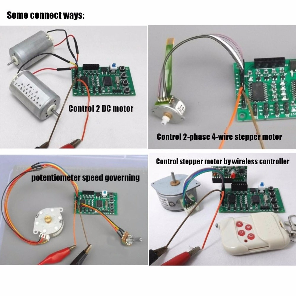 Buy Generic Robot Car Programmable 2 4 Phase 5 Stepper Motor Wire Diagram Image