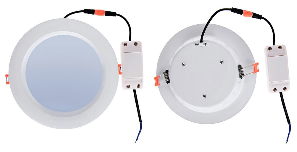 Lightme 6 Inch 2700 - 3000K 18W 1400 - 1500LM SMD2835 LED Down Light Energy Efficient Lighting