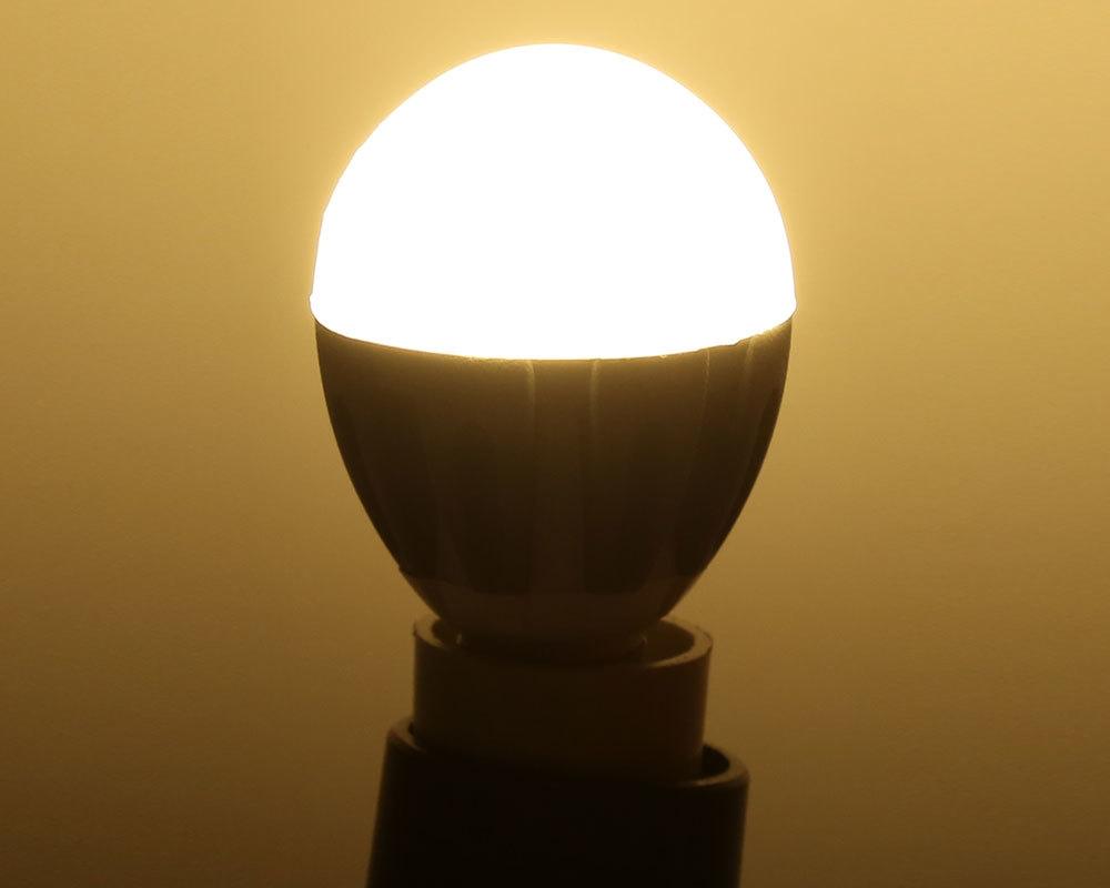 Lightme 5Pcs E14 220-240V G45 3W LED Bulb SMD 2835 Spot Globe Lamps Energy Efficient Lighting