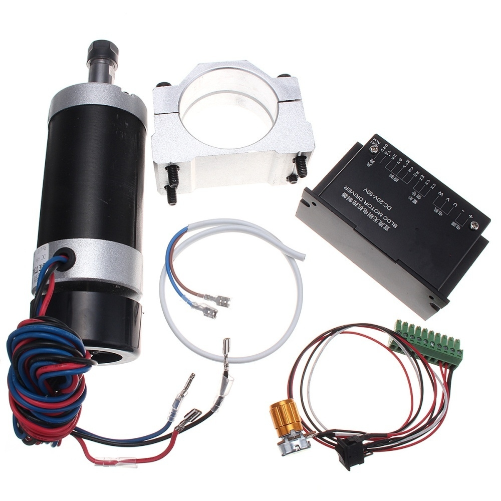 Buy Generic Er11 500w Cnc Driver Controller Brushless Spindle Motor Bldc Machine Wiring Schematic Image
