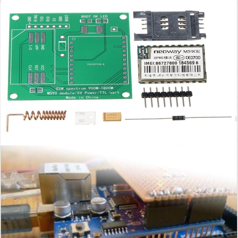 Generic M590E GSM GPRS Board CPU MCU Test Message Module 900