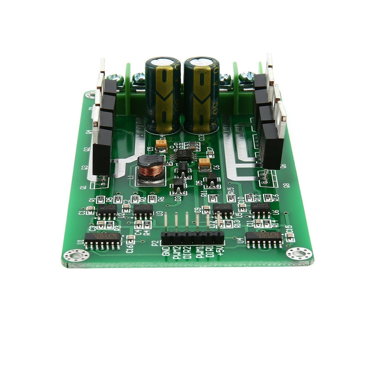 Buy Generic 3v 36v Dual Motor Driver Board Module H Bridge Dc Mosfet The N Type Irf3205s Can Be Replaced With Different Types Of Image