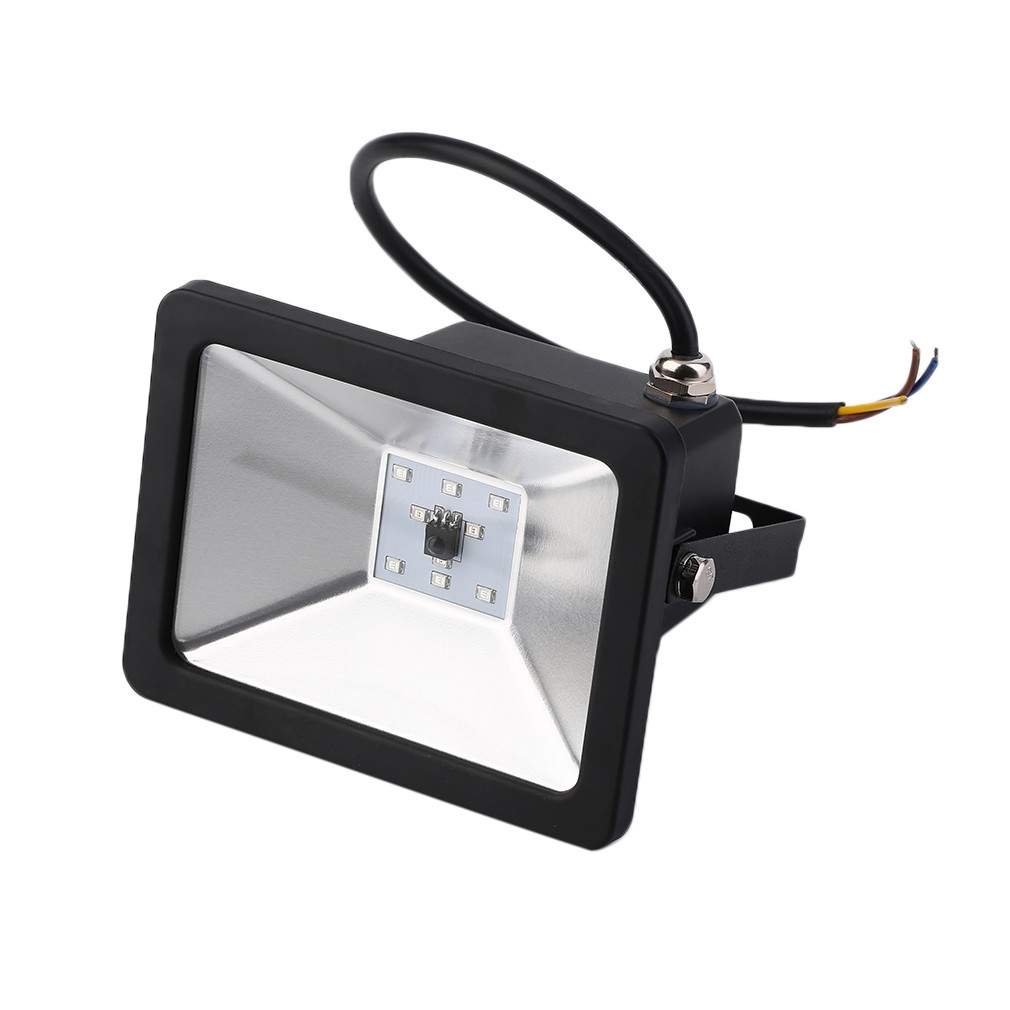 10w led flood light black ac85 265v fluter lamp landscape outdoor lighting jumia kenya. Black Bedroom Furniture Sets. Home Design Ideas