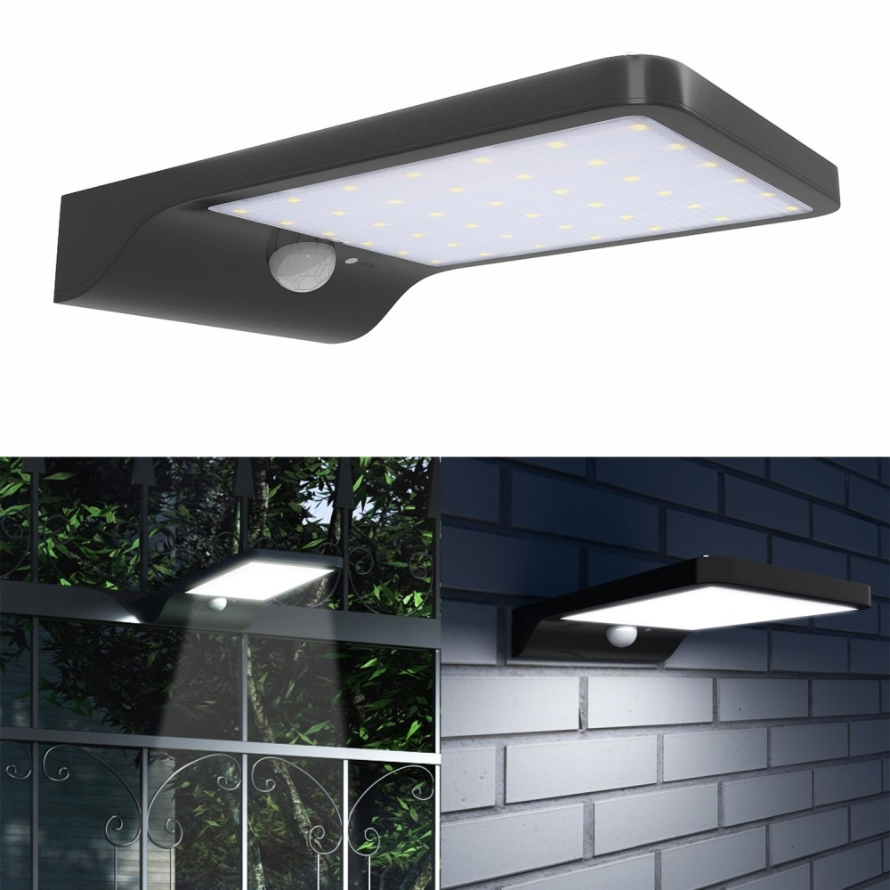 Buy Generic Hontai Solar Motion Sensor Light 42led 550lumens Max Ceiling No Wiring Outdoor Led Wall Is Perfect For Paths Decks Gardens Etc 6 Intelligent Energy Saving 7 Easy Installation Required Simply Screw