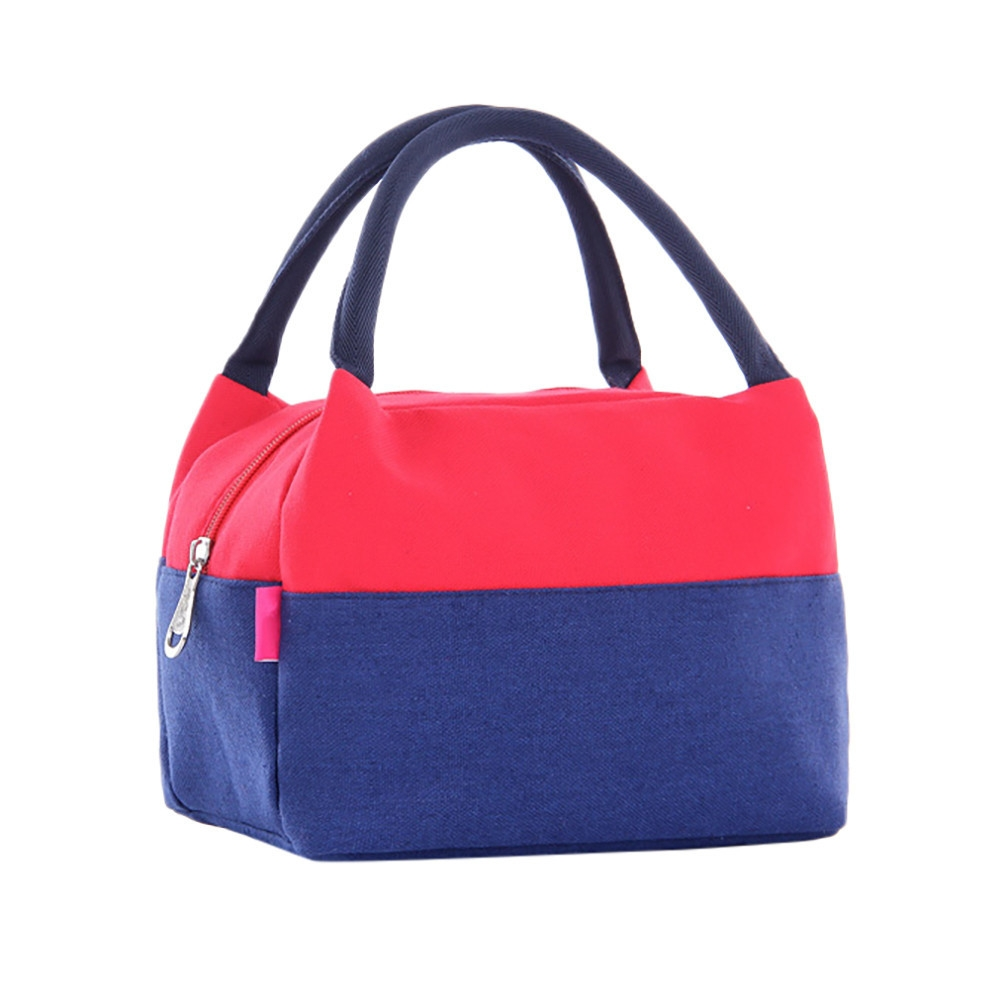 2a8aac786e2f Portable Insulated Thermal Cooler Lunch Box Picnic Case Carry Tote Storage  Bag-Red.