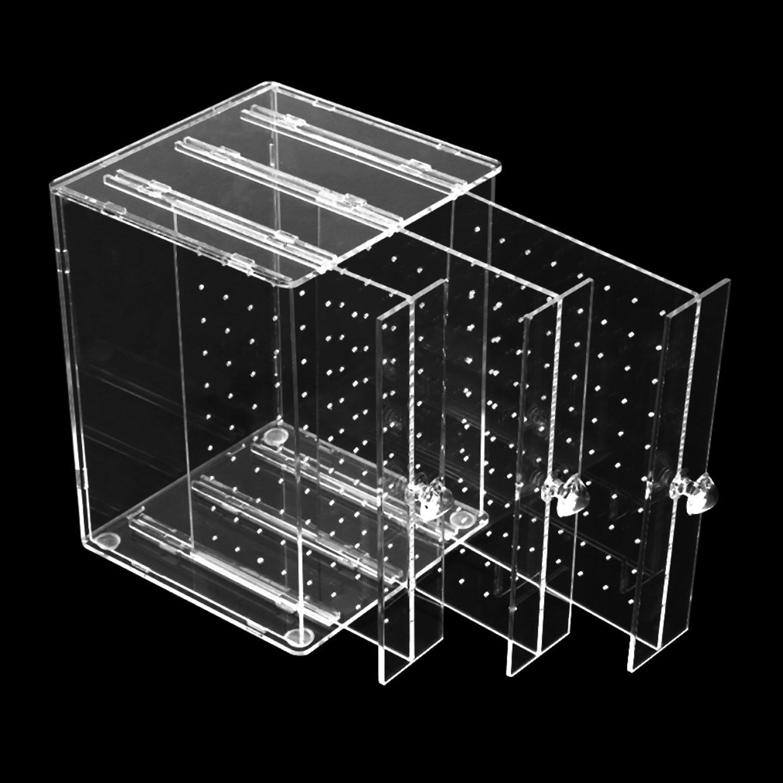 72255f8ec Generic Transparent Acrylic C36 Jewelry Earrings Storage Holer Box Display  Stand Rack Transparent
