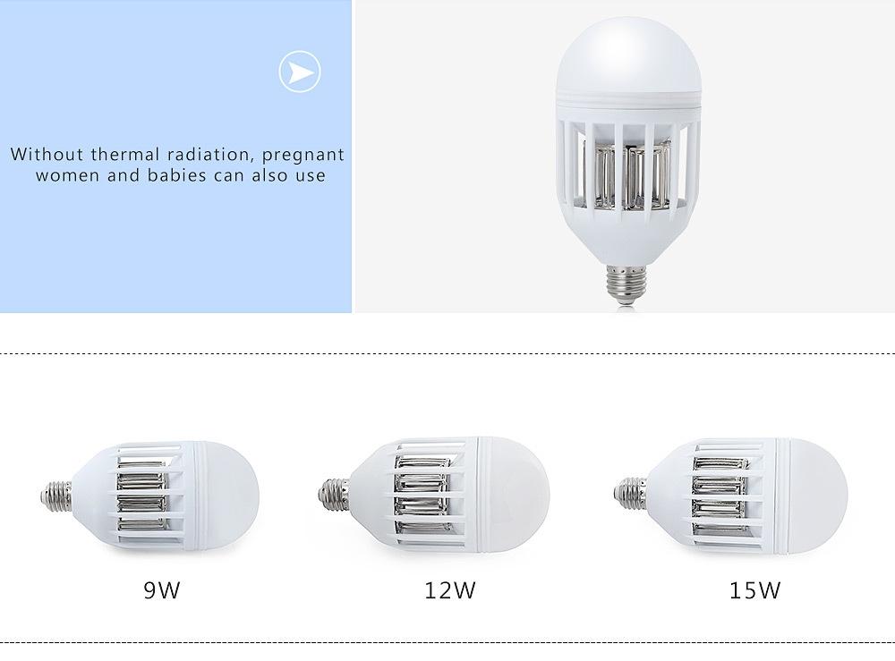 LED 85 - 265V Household Electric Mini Mosquito Killing Lamp Bulb
