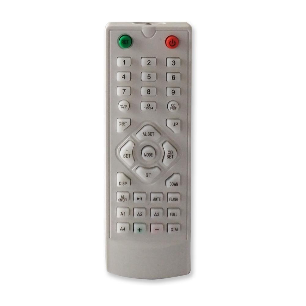 Buy Generic Big Led Digital Wall Clock With Remote Control Eu Plug
