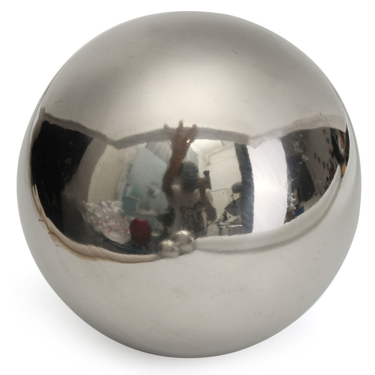Stainless Steel Large Mirror Sphere Hollow Ball Garden Malls Ornament Decoration
