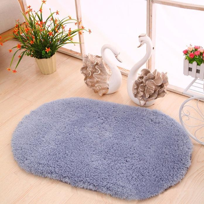 Buy Generic Soft Oval Memory Foam Bath Bathroom Bedroom Floor Shower ...