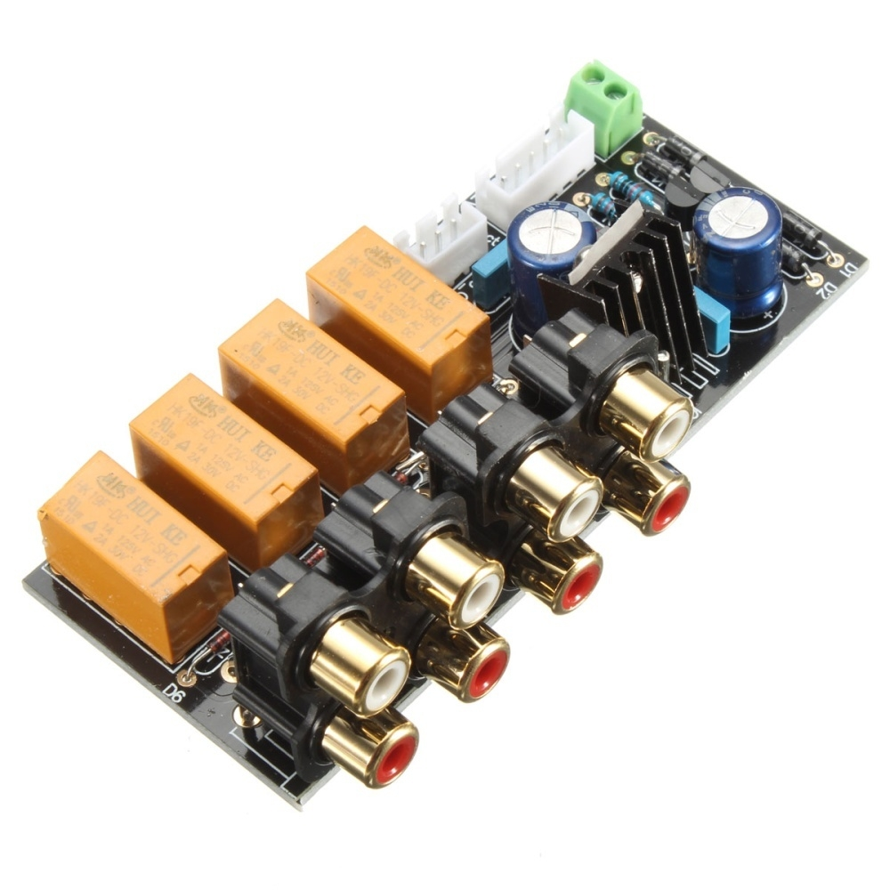 Generic Audio Input signal Selector Relay Board/ Signal