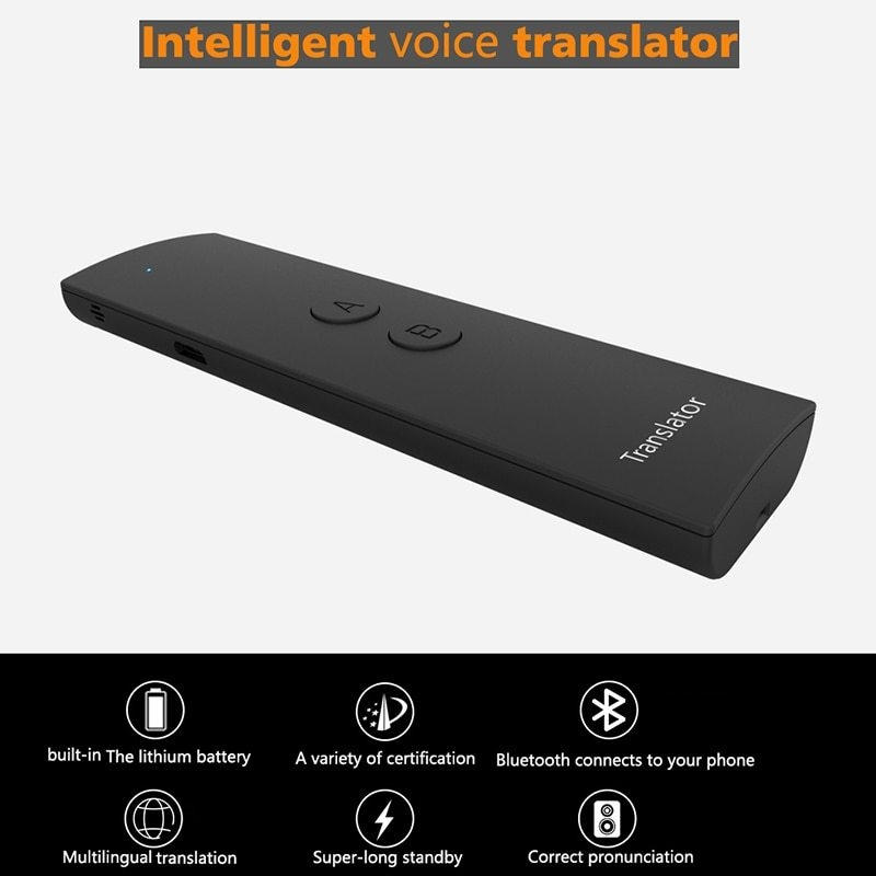 Generic Smart Voice Speech Translator Portable Two-Way Real