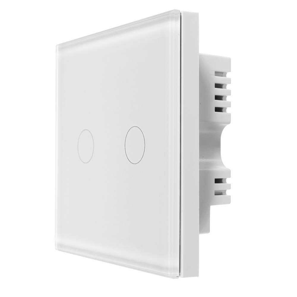 Generic 2 gang 1 way WIFI Smart Wall Light Remote Control