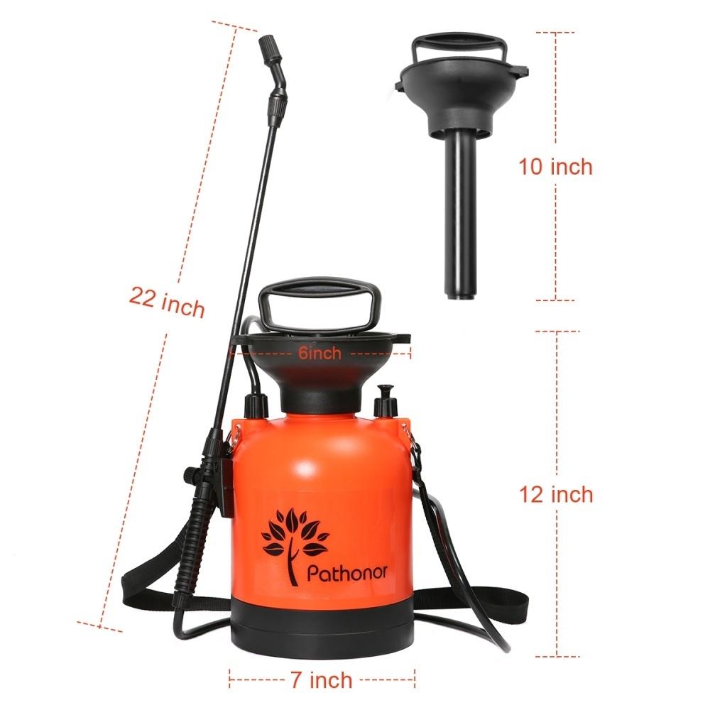 Generic 3L Pressure sprayer red a hose A spray rod Single