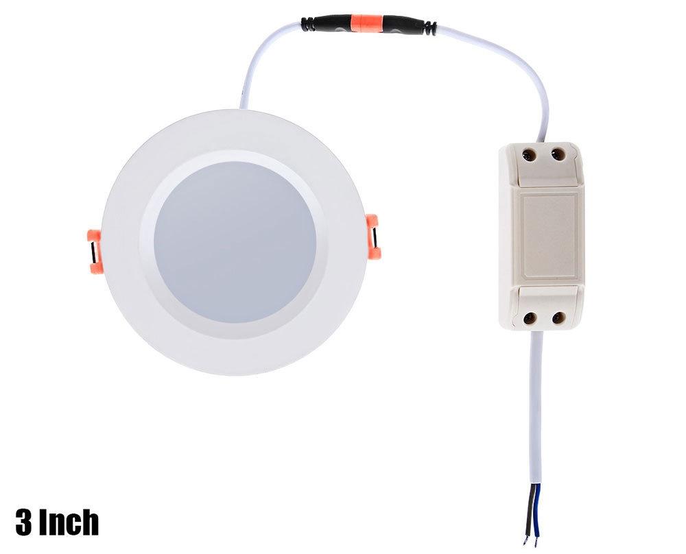 Lightme 3 Inch 2700 - 3000K 5W 380 - 400LM SMD2835 LED Down Light Energy Efficient Lighting