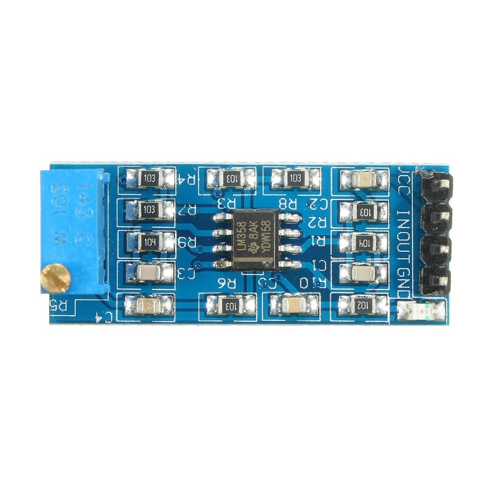 Generic LM358 100 Times Gain Signal Amplification Amplifier