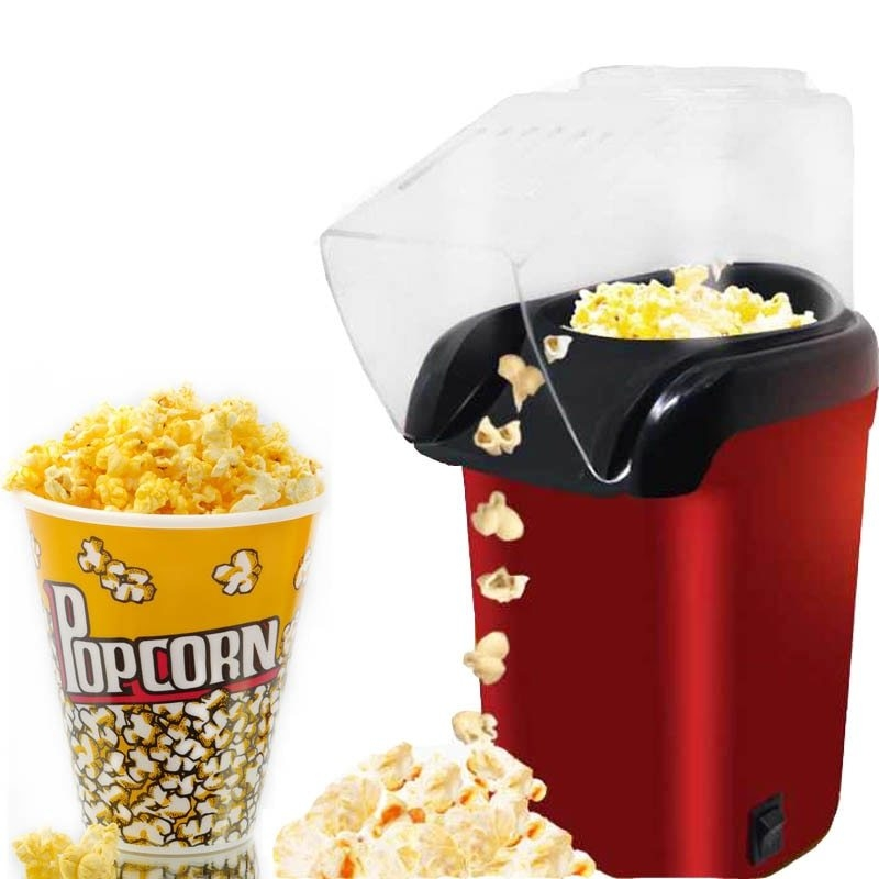 Mini-Electric-Popcorn-Maker-Machine-Automatic-Red-Corn-Popper-Natural-Hot-Air-Popcorn-Maker-corn-Household