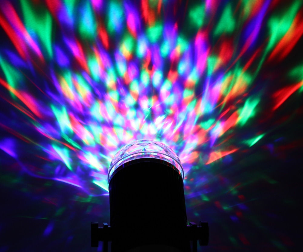 Generic sound activated led crystal stage light magic ball