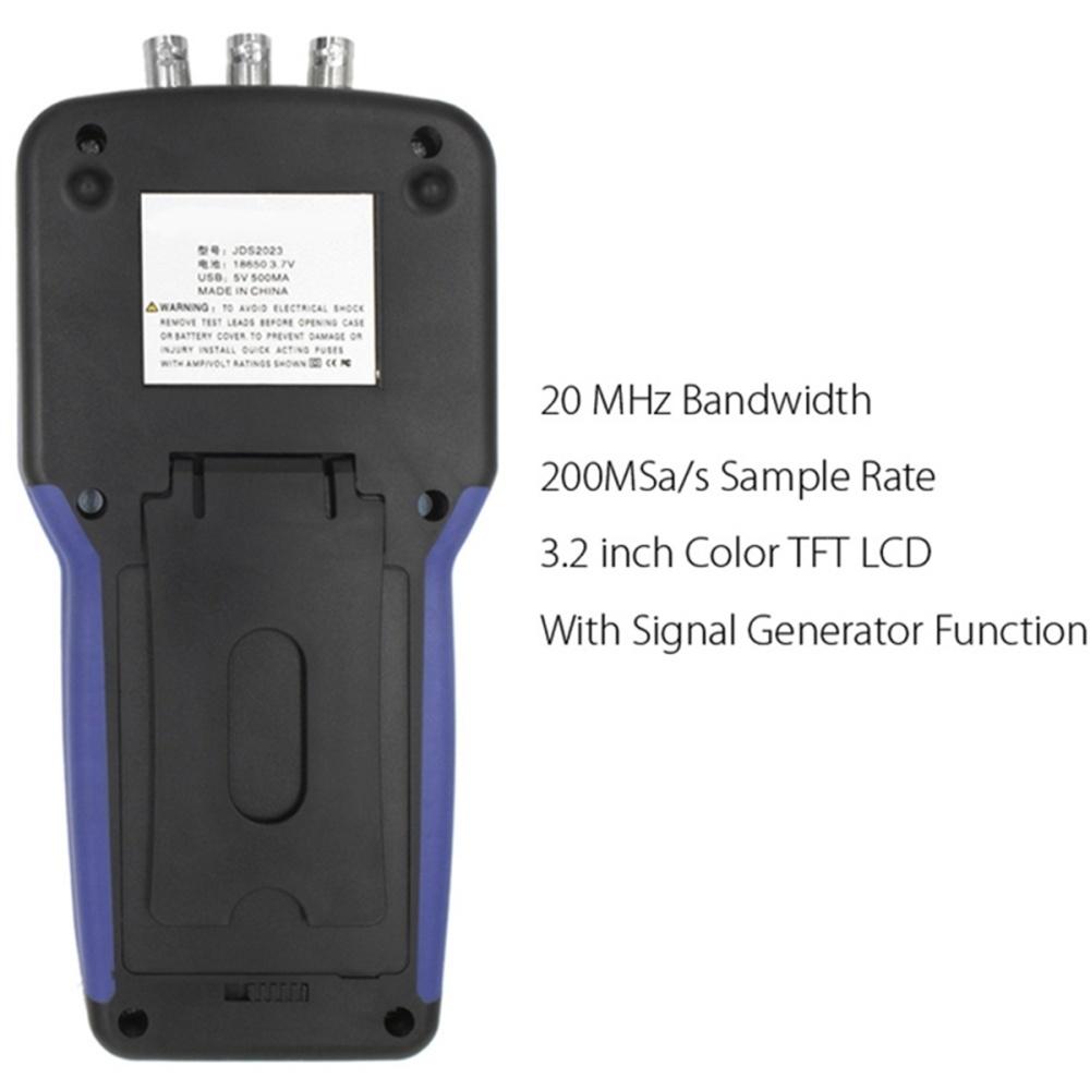 Buy Generic Jds2023 Digital Storage Handheld Oscilloscope 1ch 20mhz Function Generator Image
