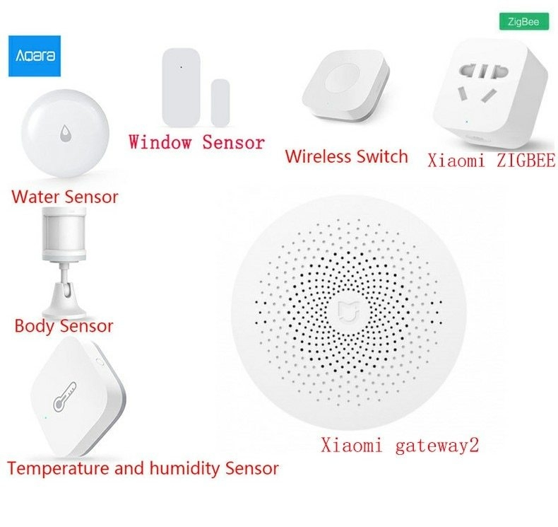 Generic Xiaomi AQARA Smart Home Kits Gateway Hub Door Window