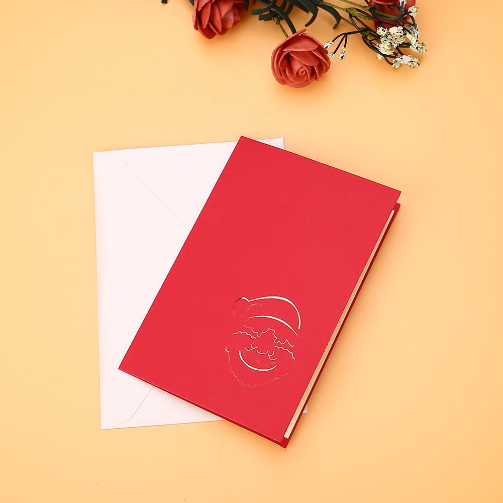 Buy Generic Creative Christmas Santa 3d Pop Up Greeting Card
