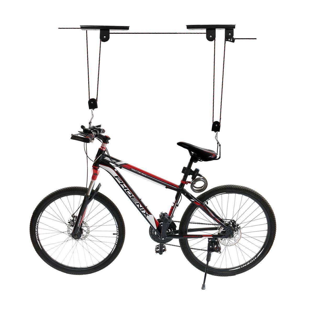Generic Kayak Hoist Bike Lift Pulley System Ceiling Hook Garage