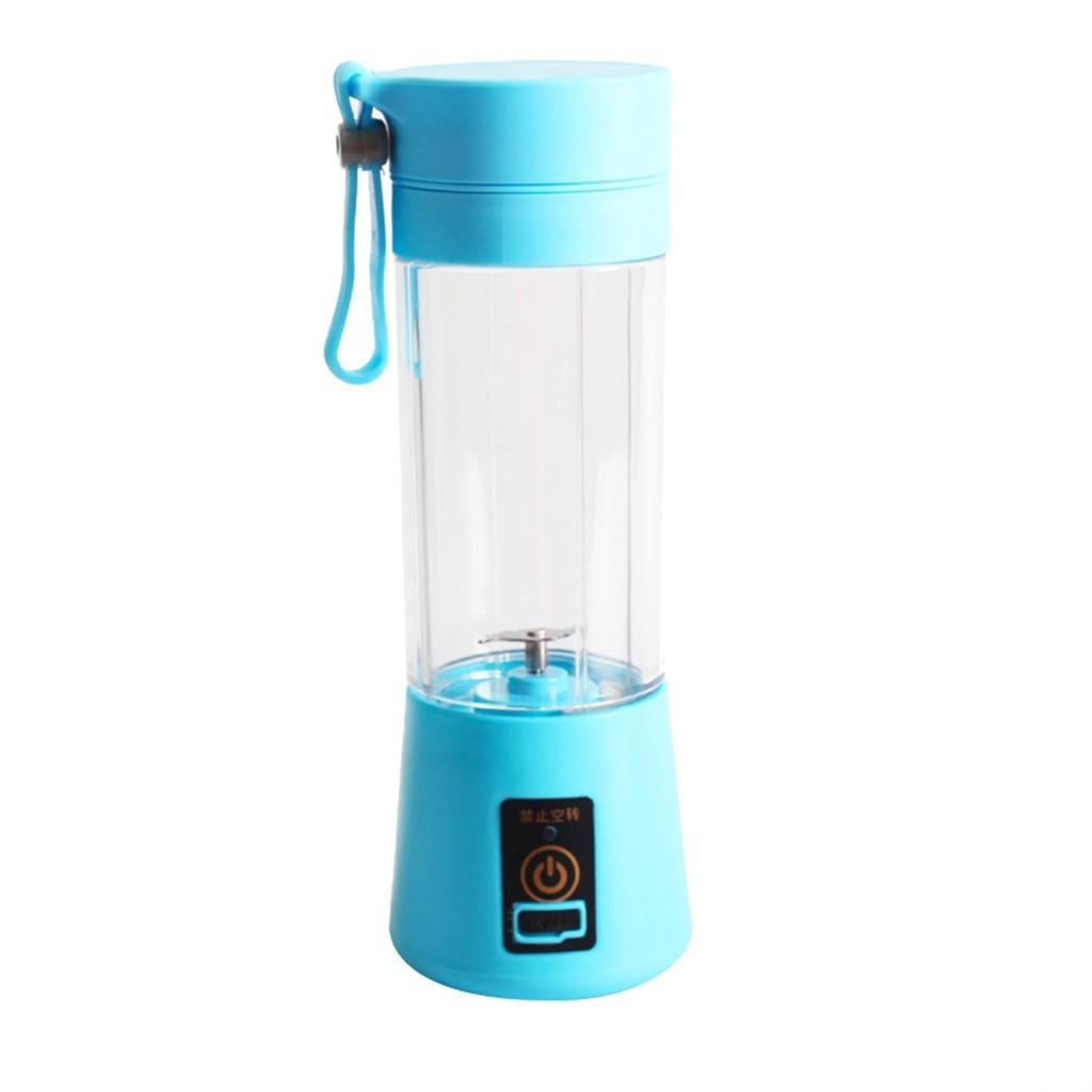 Generic Portable USB Electric Juice Blender Food Processor Smoot Maker Sport Bottle safe Blade Mixing Machine Baby Food dropshipping(Pink)