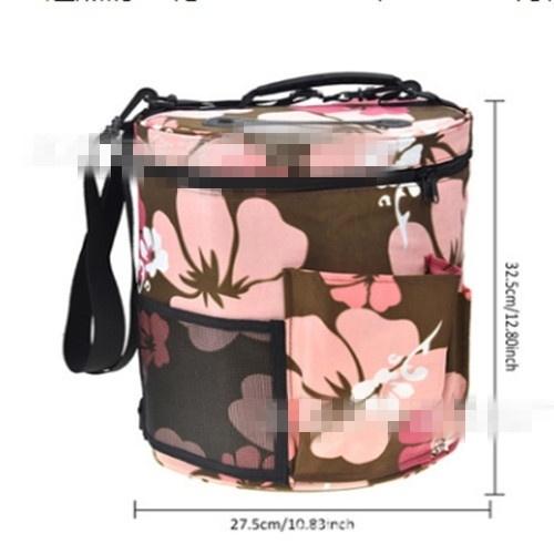 f3abf41ea69a Woolen Yarn Storage Bag Knitting Crochet Ball Holder Tote Organizer Bag  Basket