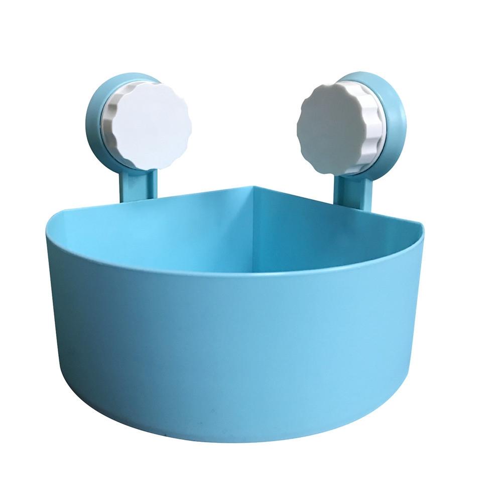 Buy Generic Plastic Suction Cup Bathroom Kitchen Corner Storage Rack ...