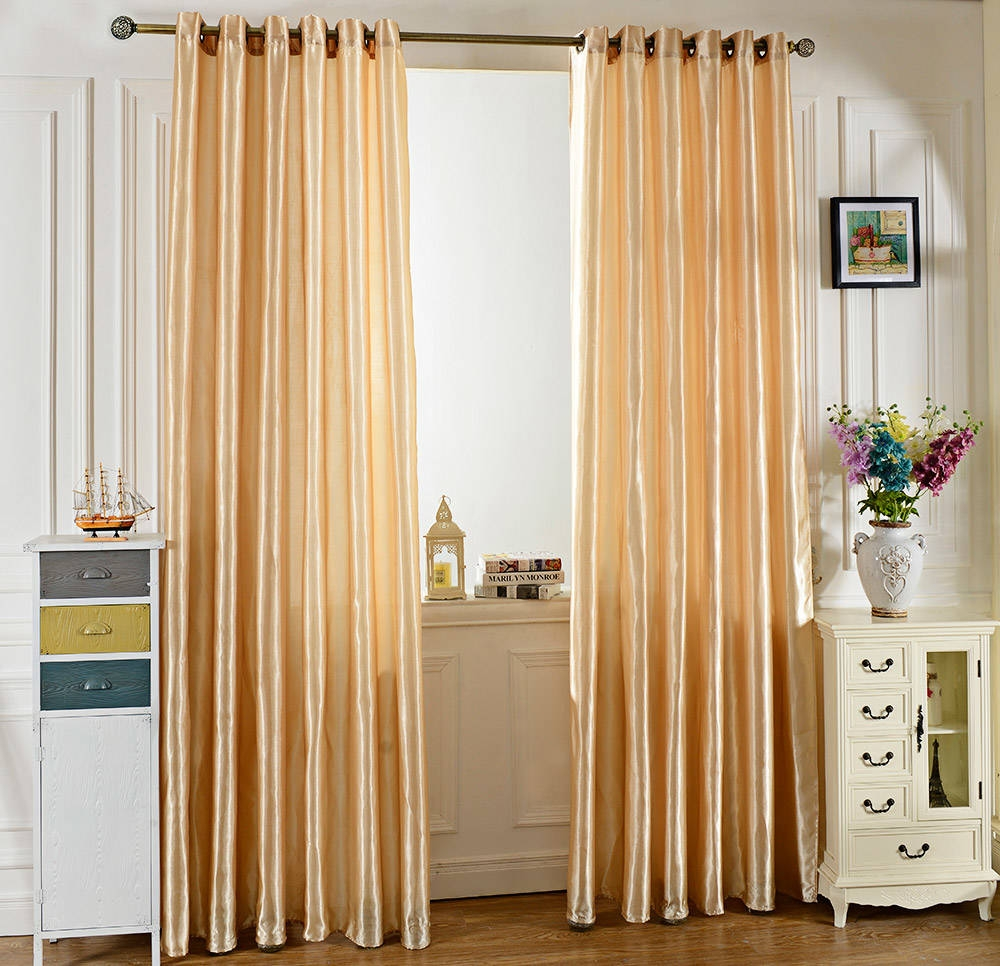 Kitchen Curtains In Kenya: Buy Generic 100x250CM Pure Color Grommet Ring Top Blackout