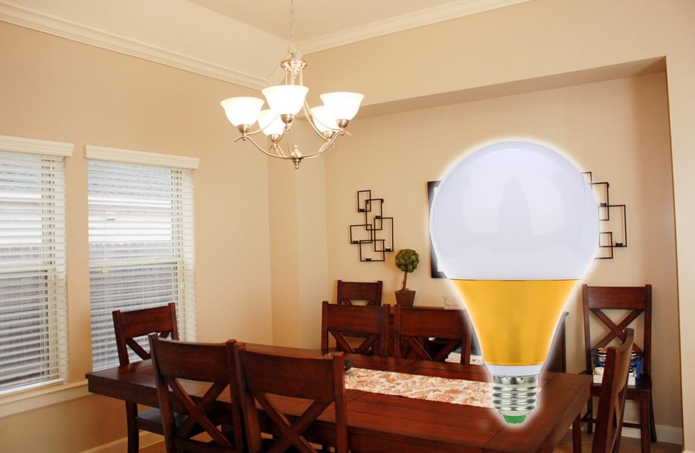 E27 15W AC 85 - 265V 5730 LED Light Energy Saving Globe Shaped Bulb