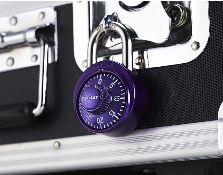 Master Lock Keyed Padlock Password Smart for Lock for a Suitcase Combination Lock for bag  Carousel gym locker lock Mini (10)