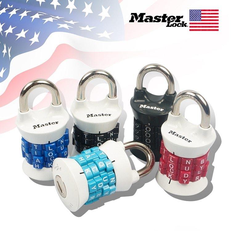 Master Lock Digit Combination Password Lock Zinc Alloy Security Lock Suitcase Luggage Coded Lock Cupboard Cabinet Locker Padlock (3)