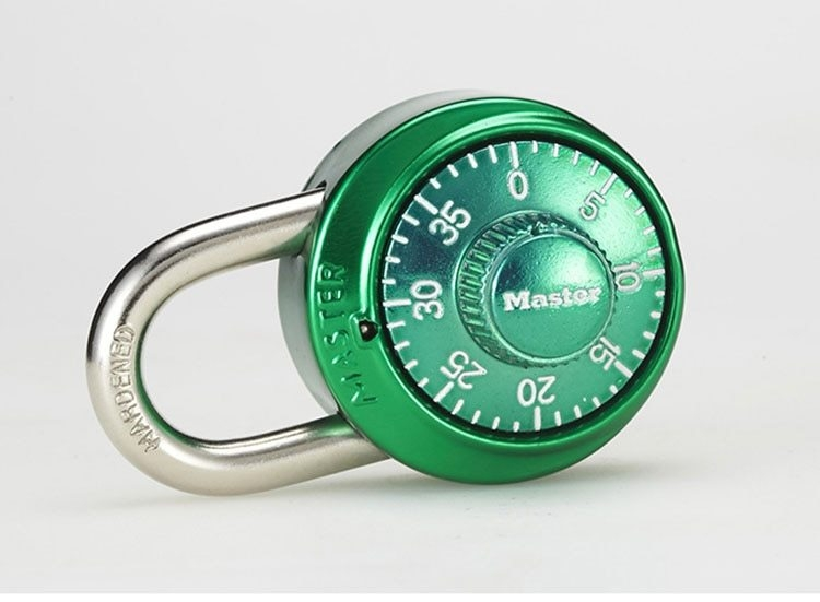 Master Lock Keyed Padlock Password Smart for Lock for a Suitcase Combination Lock for bag Carousel gym locker lock Mini (1)