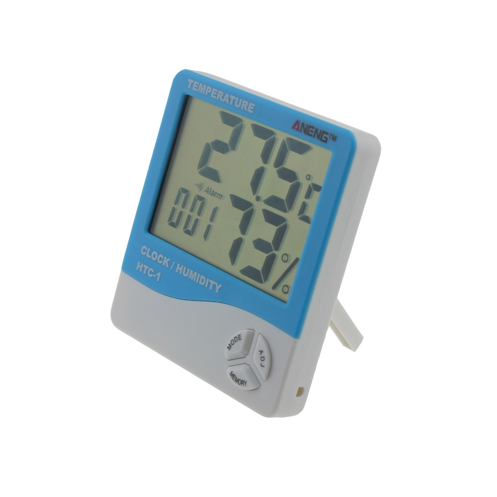 Buy Generic 100 New Indoor Room Lcd Electronic Temperature Humidity Termometer Hygrometer Htc 1 Image