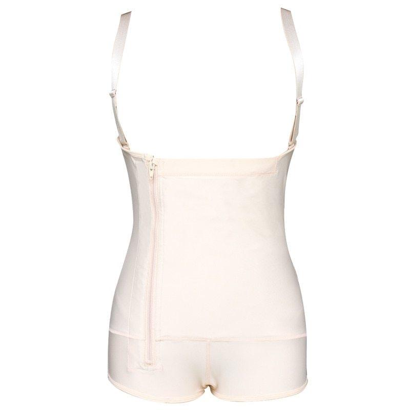 Plus Size Hot Latex Women's Body Shaper Post Liposuction Girdle Clip and Zip Bodysuit Vest Waist Shaper Reductoras Shapewear (8)