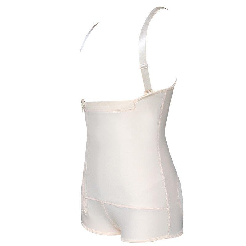 Plus Size Hot Latex Women's Body Shaper Post Liposuction Girdle Clip and Zip Bodysuit Vest Waist Shaper Reductoras Shapewear (15)