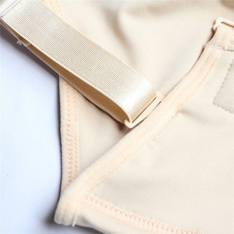 Plus Size Hot Latex Women's Body Shaper Post Liposuction Girdle Clip and Zip Bodysuit Vest Waist Shaper Reductoras Shapewear (11)