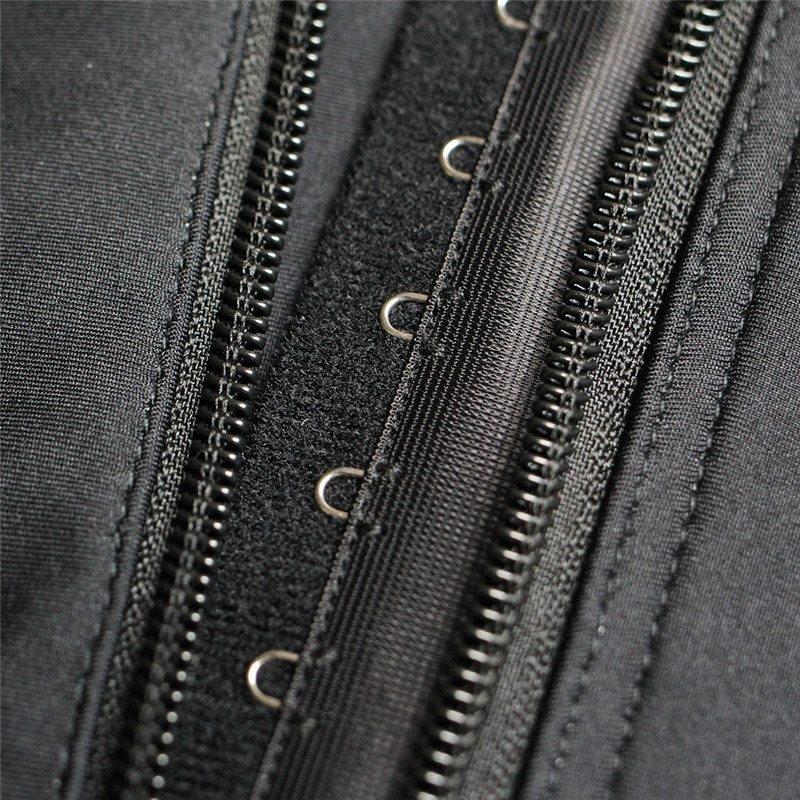 Plus Size Hot Latex Women's Body Shaper Post Liposuction Girdle Clip and Zip Bodysuit Vest Waist Shaper Reductoras Shapewear (7)