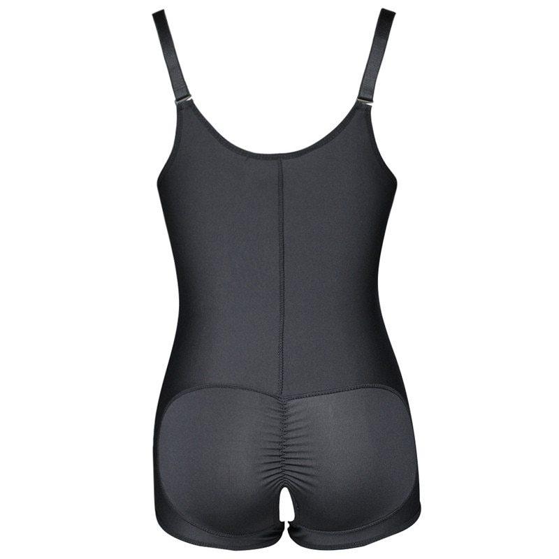 Plus Size Hot Latex Women's Body Shaper Post Liposuction Girdle Clip and Zip Bodysuit Vest Waist Shaper Reductoras Shapewear (1)