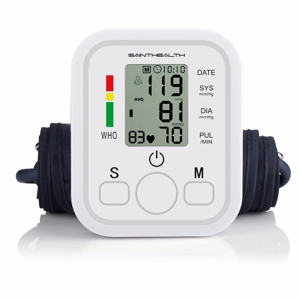 Automatic Digital Blood Pressure Machine Smart Home Upper Arm Blood Pressure Monitor Voice as picture 2