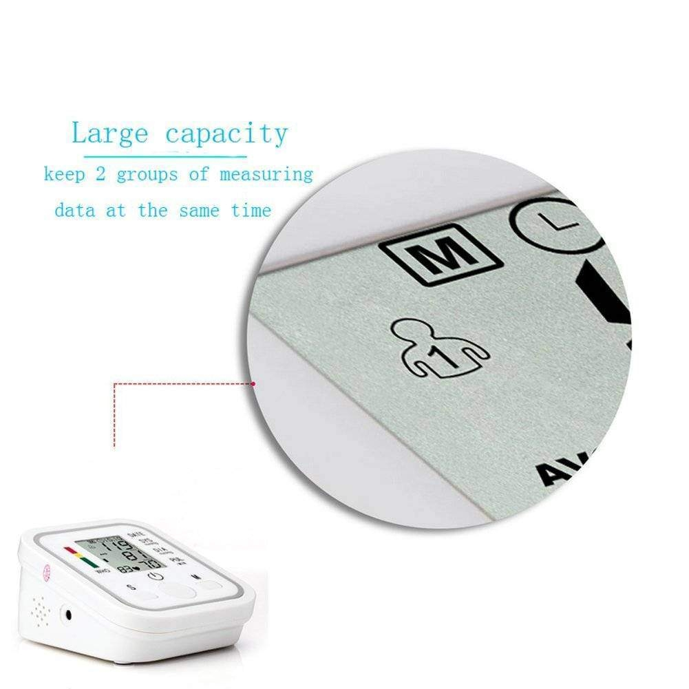 Automatic Digital Blood Pressure Machine Smart Home Upper Arm Blood Pressure Monitor Voice as picture 5