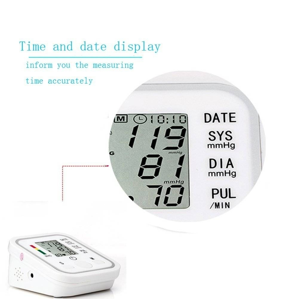Automatic Digital Blood Pressure Machine Smart Home Upper Arm Blood Pressure Monitor Voice as picture 4