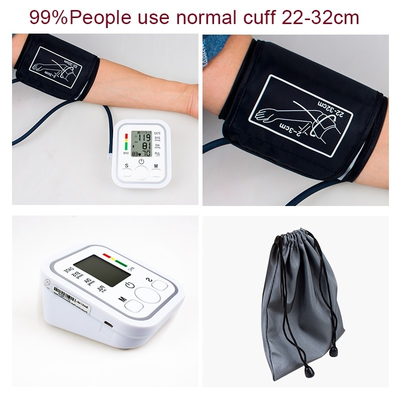 Automatic Digital Blood Pressure Machine Smart Home Upper Arm Blood Pressure Monitor Voice as picture 9
