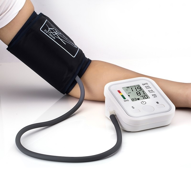 Automatic Digital Blood Pressure Machine Smart Home Upper Arm Blood Pressure Monitor Voice as picture 1