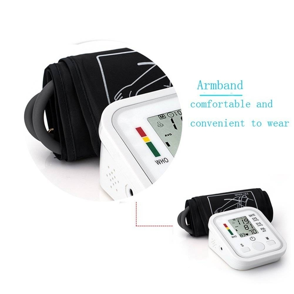 Automatic Digital Blood Pressure Machine Smart Home Upper Arm Blood Pressure Monitor Voice as picture 6